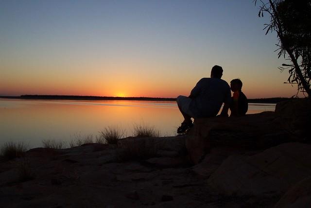 Experiencing fatherhood as a son